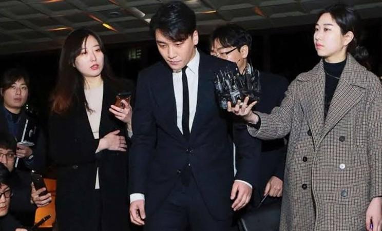Seungri, mantan personel Bigbang, tengah menjalani proses investigasi terkait kasus prostitusi di kepolisian Seoul, Korea Selatan. - Istimewa