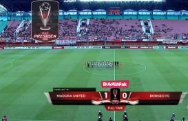 Piala Presiden: Madura United Tekuk Borneo FC 1-0, Madura United Tatap Perempat Final.  Ini Videonya