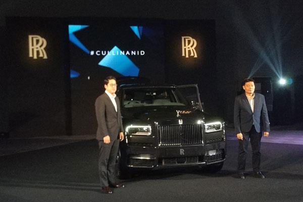 Rolls-Royce Cullinan merupakan kendaraan dengan mode penggerak roda depan dan bekalang yang diklaim telah diuji di berbagai lokasi dengan cuaca ekstrim.   - BISNIS.COM