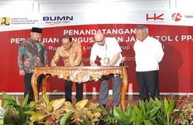 Pembangunan Tol Bengkulu-Lubuk Linggau Segera Dimulai
