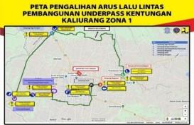 Dampak Proyek Underpass Kentungan Yogyakarta, Sejumlah jalan Alternatif Rusak