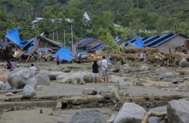 Banjir Papua Tewaskan 58 Orang, 2 Tewas di Tanah Longsor Lombok