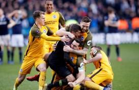 Menang Adu Penalti, Brighton ke Semifinal Piala FA