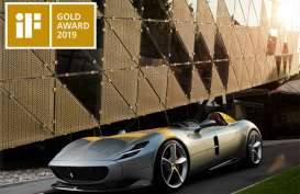 Ferrari Monza SP1 Sabet iF Design Award 2019