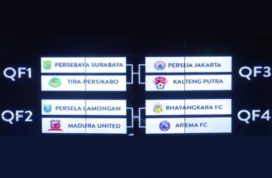 Undian Piala Presiden: Persebaya Bertemu lagi Tira-Persikabo, Persija Ditantang Kalteng Putra