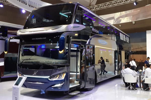 Volvo Bus B11R. - BISNIS.COM/doni