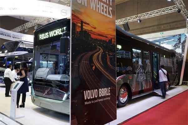 Volvo Bus B8R.  - BISNIS.COM/doni