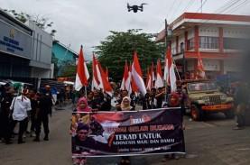 Kampanye Pendukung Jokowi di Kendal Kena Tegur Bawaslu
