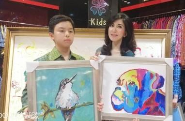 Hari Down Syndrome Dunia: Rainier Wardhana Hardjanto, Kartika Affandi, & Rudolf Schmidt Sumbang Lukisan Terbaik
