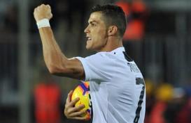 Gestur Selebrasi Gol Cristiano Ronaldo Berbuah Denda Rp321 Juta