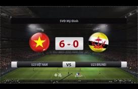 Piala Asia U23: Vietnam Hajar Brunei 6-0, Indonesia Wajib Menang Telak