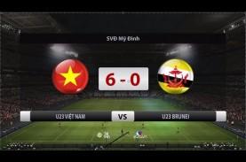 Piala Asia U23: Vietnam Hajar Brunei 6-0, Indonesia…
