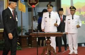 Ded Yon-Jumadi Resmi Dilantik Jadi Wali Kota dan Wakil Wali Kota Tegal