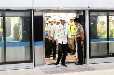 Hari Ini Presiden Jokowi Resmikan MRT Jakarta, Penumpang Dibatasi Hingga 80.000 Orang