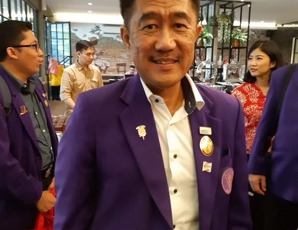 Ketua Pengurus Besar Persatuan Dokter Gigi Indonesia (PB PDGI) Sri Hananto Seno -  Bisnis/Eva Rianti
