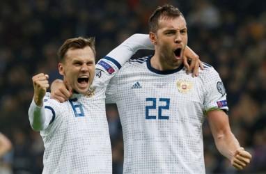 Kualifikasi Euro 2020, Wales & Rusia Raup 3 Poin