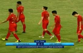 Piala Asia U23: Indonesia vs Brunei  2-1, Indonesia Peringkat ke-3. Ini Videonya