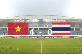 Piala Asia U23: Vietnam Hajar Thailand 4-0, ke Babak…