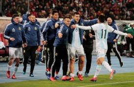 Tanpa Lionel Messi, Argentina Atasi Maroko
