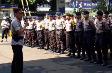 400 Polisi Amankan Sidang Putusan Hercules