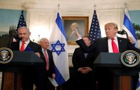 Trump Hadiahkan Dataran Tinggi Golan ke Israel, Ini Sikap PBB