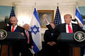 Trump Hadiahkan Dataran Tinggi Golan ke Israel, Ini…
