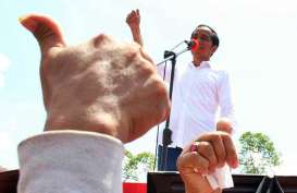 Kampanye di Mamuju, Jokowi Berharap Pembangunan Bendungan Kalukku Dorong Perekonomian