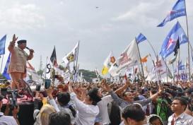 Kampanye di Bandung, Prabowo Kenalkan Calon Menterinya