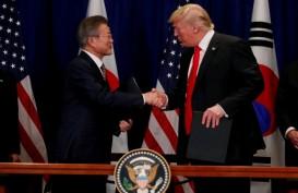 Bahas Denuklirisasi Korut, Donald Trump dan Moon Jae-in akan Bertemu April