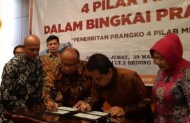 Rawat Keindonesiaan, MPR Luncurkan Prangko 4 Pilar Kebangsaan