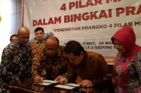 Rawat Keindonesiaan, MPR Luncurkan Prangko 4 Pilar…