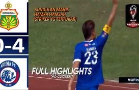 Piala Presiden: Bhayangkara FC vs Arema FC 0-4, Arema ke Semifinal vs Kalteng Putra. Ini Videonya