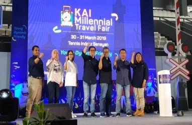 KAI Millennial Travel Fair Tawarkan Tiket Mulai dari Rp35.000