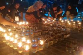 Ratusan Warga di Jogja Padamkan Lampu saat Berlangsung…