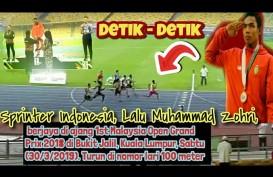 Zohri Raih Medali Emas di Malaysia Open Grand Prix. Ini Videonya