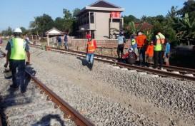 Rel Ganda Kroya - Kutoarjo Dikebut, Ini Rekayasa di Stasiun Sumpiuh