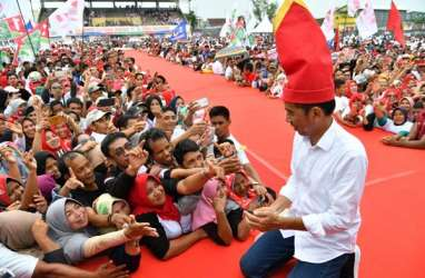 Kampanye pilpres, Jokowi : Saya Tegas & Tak Pandang Bulu Berantas Korupsi