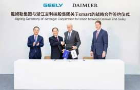 Daimler dan Geely Bentuk Patungan Kembangkan Smart