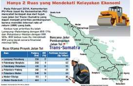 Kontrak 2 Ruas Tol Trans Sumatra Segera Diteken