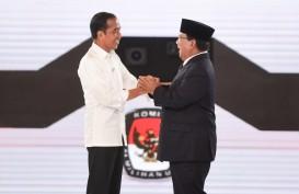 Survei Indo Barometer : Jokowi-Ma'ruf 50,8 Persen, Prabowo-Sandi 32 Persen