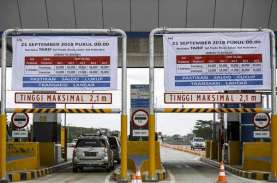 Kerusakan Jalan Tol Palembang-Indralaya Diperbaiki