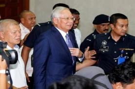Sidang Perdana 1MDB, Mantan PM Malaysia Najib Razak…