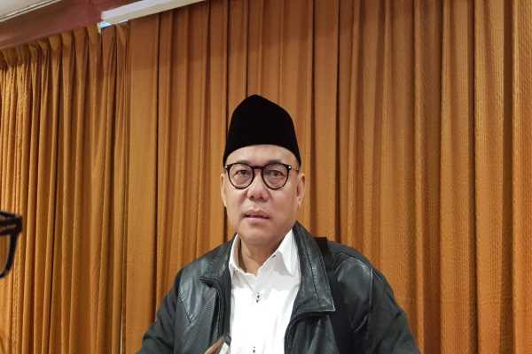 Ketua Unit Kerja Hematologi dan Onkologi Ikatan Dokter Anak Indonesia (IDAI) dr. Bambang Sudarmanto, SpAK Mars ketika ditemui di Jakarta, Kamis (4/4/2019) - Denis Riantiza M