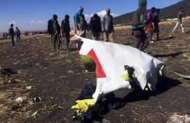 Laporan Awal Kecelakaan Ethiopian Airlines : Pilot Ikuti Seluruh Prosedur Sebelum Pesawat Jatuh