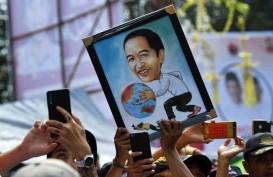 Kampanye di Brebes, Jokowi Basah Kuyup