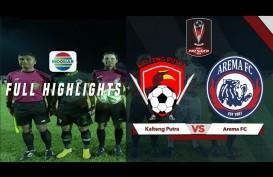 Piala Presiden: Kalteng Putra vs Arema 0-3, Arema Jalani All Jatim Final