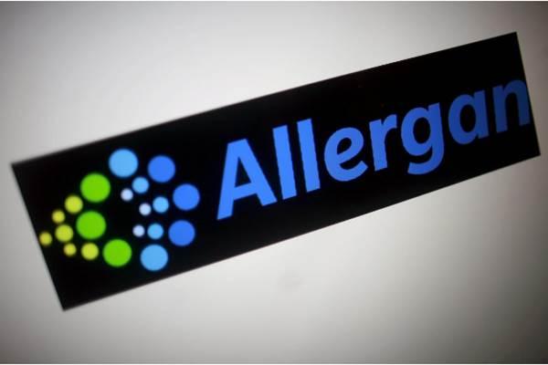 Logo Allergan - CASES REUTERS/Thomas White