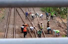 Proyek Jalur Ganda KA Lintas Jabar Dipastikan Selesai Akhir 2019