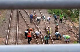 Proyek Jalur Ganda KA Lintas Jabar Dipastikan Selesai…