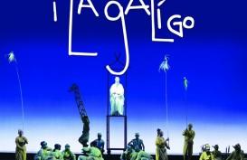 Di Bawah Robert Wilson, I La Galigo Tampil 4-7 Juli 2019